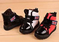 Стильные лаковые ботинки, оксфорды, фото 1