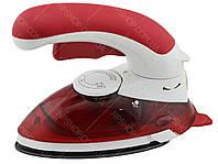 Ручной отпариватель паровой утюг с щеткой GHD HT-558B Red (4910)