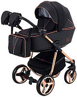 Дитяча коляска Adamex Sierra Polar (Pink  Gold) SR408, фото 1