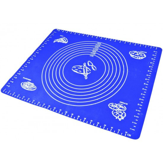 Коврик силиконовый с разметкой 70*50 см