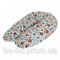 Подушка для кормления Ceba Baby Physio Multi  цветы