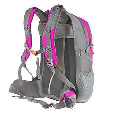 Рюкзак туристический TANLUHU 50х32х22 розовый 40л Polyester Oxford Rip Stop PU 600D/1600D   кс631роз, фото 2