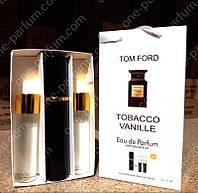 Мини-парфюмерия с феромонами Tom Ford Tobacco Vanille (Том Форд Табако Ваниль), 3 x15 мл, фото 1