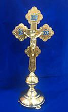 Хрест напрестольний середній з гравіюванням