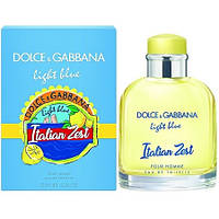 Туалетная вода Dolce & Gabbana Light Blue Italian Zest Pour Homme ( Дольче Габанна Лайт Блю Италиан Зест)