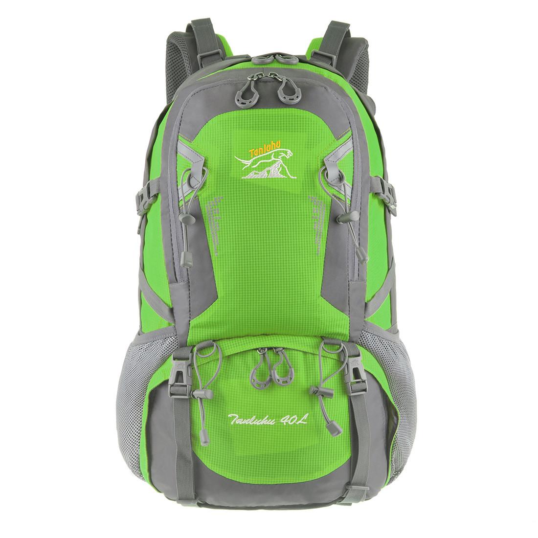 Рюкзак туристический TANLUHU 50х32х22 зелёный 40 л Polyester Oxford Rip Stop PU 600D/1600D   кс631зел