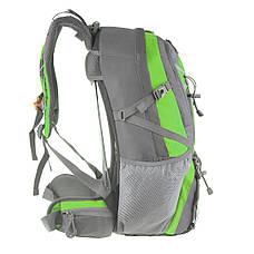 Рюкзак туристический TANLUHU 50х32х22 зелёный 40 л Polyester Oxford Rip Stop PU 600D/1600D   кс631зел, фото 3