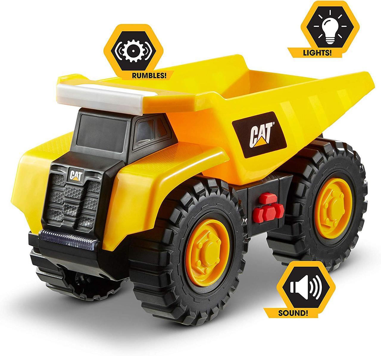 Вантажівка CAT Самоскид із звуком і світлом