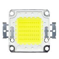 Светодиодная матрица LED 50Вт 4000лм 30-34В, белая, медная подложка