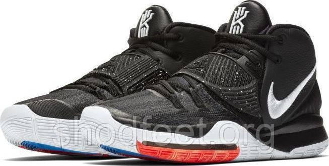 Підліткові баскетбольні кросівки Nike Kyrie 6 Jet Black