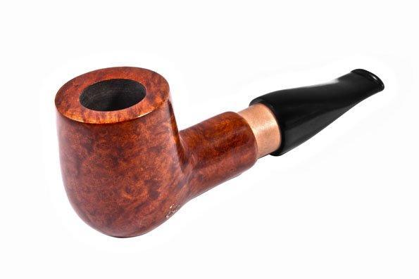 Трубка Brog  2 x 4 см Черная с коричневым