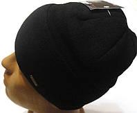 Молодежная мужская шапка Норд черная