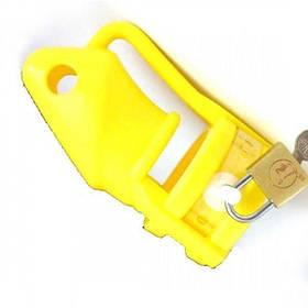 Желтое силиконовое устройство верности