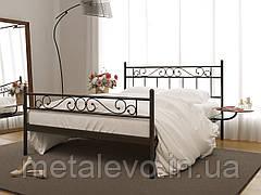 Металлическая кровать с изножьем ЭСМЕРАЛЬДА -2 ТМ Метакам