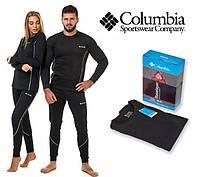 Термобелье мужское, женское теплое Columbia ,термо комплект, термобілизна +ПОДАРОК.