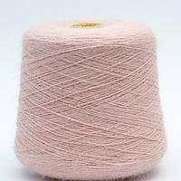 Пряжа Італія Ангора 100г/900м 92-2 рожевий