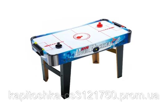 Воздушный хоккей Power Hockey ZC 3005 С - 220 В на ножках. Размер игрового поля:  77х40 см.