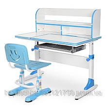 Детская парта со стульчиком. Регулируемый столик и стульчик. Ширина,глубина,высота-100х60х116 см. M 4091-1