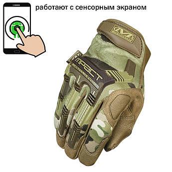 """🔥 Перчатки полнопалые """"Mechanix. M-Pact"""" (multiam). тактические перчатки, боевые, штурмовые"""