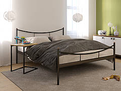 Двуспальная металлическая кровать с изножьем САКУРА -2 (SAKURA -2) 180х190