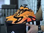 Мужские кроссовки Adidas Streetball (оранжевые), фото 3