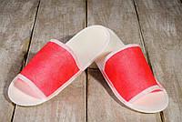 Одноразовые флизелиновые тапочки Luxyart для отелей 100 шт Красный (ZF-0323)