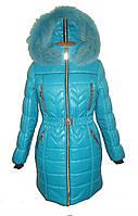 Зимние куртки и пуховики для девочек