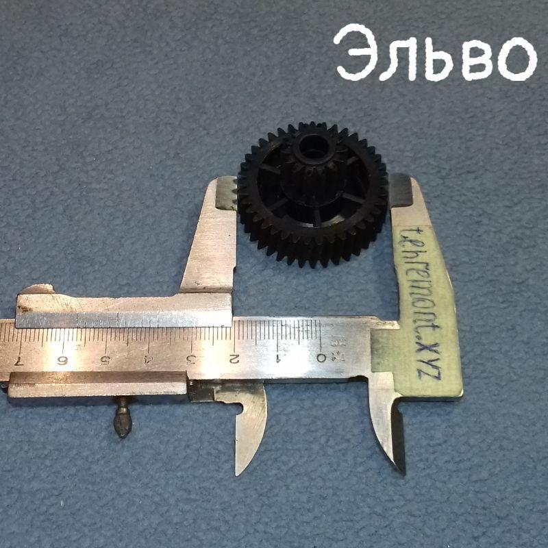 Шестерня редуктора для мясорубки Эльво (Z=39; z=14; D=38; H=25) Украина