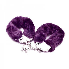 Наручники фиолетовые