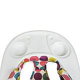 Детские ходунки. Звуковые и световые эффекты. Мягкая спинка. Колесики. Бежевый. ME 1056 Dolphin, фото 2