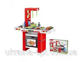"""Игровой набор -""""Моякухня"""". Звуковые и световые эффекты. Посуда, плита, продукты. Материал: пластик.  8759"""
