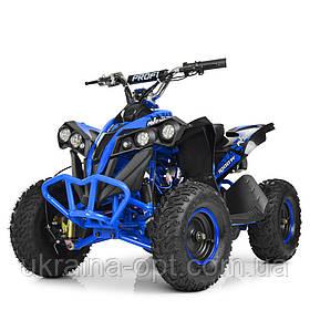 Детский электроквадроцикл. Profi HB-EATV1000Q-4ST V2. Скорость до 26.5км/ч. Рама: металл. Нагрузка: 65 кг