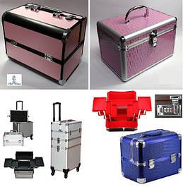 Кейсы чемоданы алюминиевые бьюти