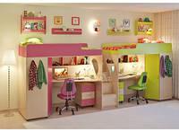 Детская кровать для двоих детей ДМ 303