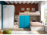 Детская кровать для двоих детей ДМ 718