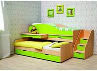 Кровать-чердак для двоих детей ЧК 2