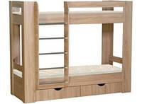 Надежная двухъярусная кровать для двоих детей ДМ 801