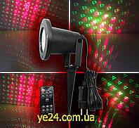 10 рисунков Лазерный проектор для декорации фасада, стены LZ-10 Festival Projection Lamp Star Shower
