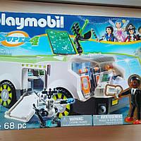 Playmobil 6692 Машина Техно-Хамелеон тайного агента Джин - конструктор