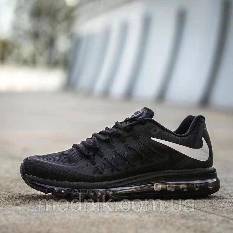 Мужские кроссовки Nike Air Max 2015 (черно-белые)