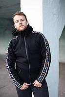 Зимняя кофта с капюшоном Kappa Black Colored