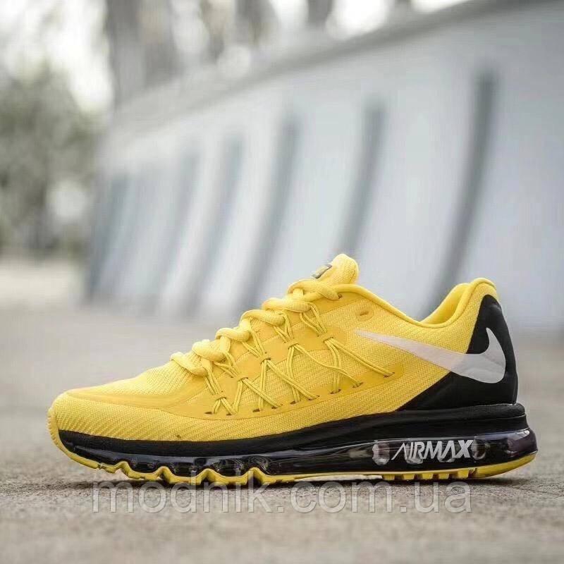 Мужские кроссовки Nike Air Max 2015 (желтые)