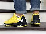 Мужские кроссовки Nike Air Max 2015 (желтые), фото 2