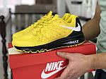 Мужские кроссовки Nike Air Max 2015 (желтые), фото 4