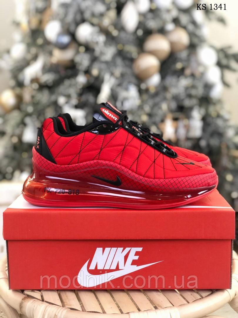 Мужские кроссовки Air Max AM98720 (красные) - термо