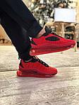 Мужские кроссовки Air Max AM98720 (красные) - термо, фото 3