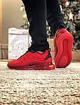 Мужские кроссовки Air Max AM98720 (красные) - термо, фото 4