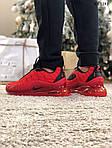 Мужские кроссовки Air Max AM98720 (красные) - термо, фото 5