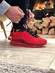 Мужские кроссовки Air Max AM98720 (красные) - термо, фото 6