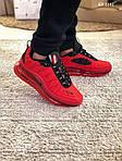 Мужские кроссовки Air Max AM98720 (красные) - термо, фото 7